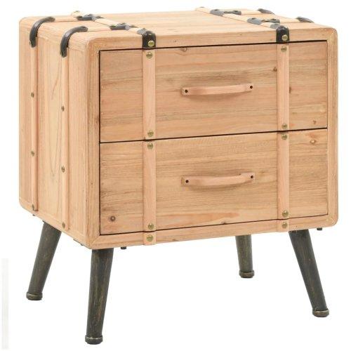 Zaawansowane Szafka nocna stolik nocny drewno metal loft retro meblomaniak24 YW71
